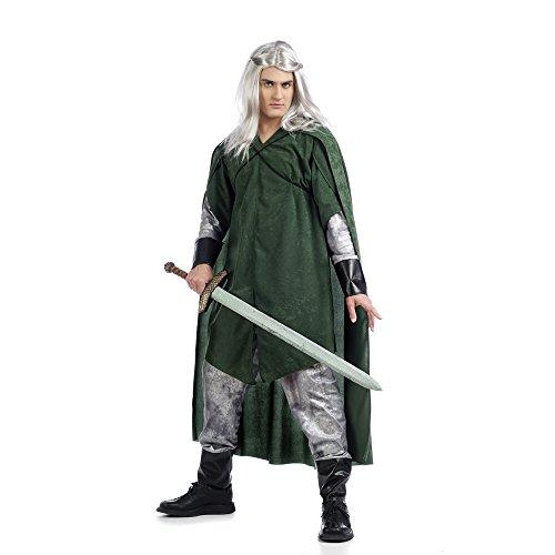 Limit disfraces nuevos estilos Medieval Fantasy elfo disfraz (tamaño grande, verde)