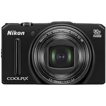 "Nikon Coolpix S9700 - Cámara compacta de 16 Mp (pantalla de 3"", zoom óptico 30x, estabilizador óptico, GPS), negro"