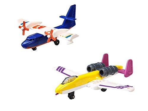matchbox-set-di-aeroplani-giocattolo-modelli-skybusters-blaze-buste-e-fairchild-thunderback-4-pz