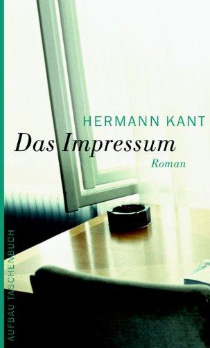Das Impressum: Roman
