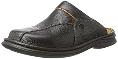 Josef Seibel Klaus, Men's Clogs, Black (Black/Cognac 26611), 5 UK (39 EU)
