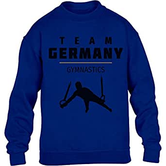 Gymnastik Team Germany – Olympia 2016 Fan Motiv Kinder Pullover Sweatshirt