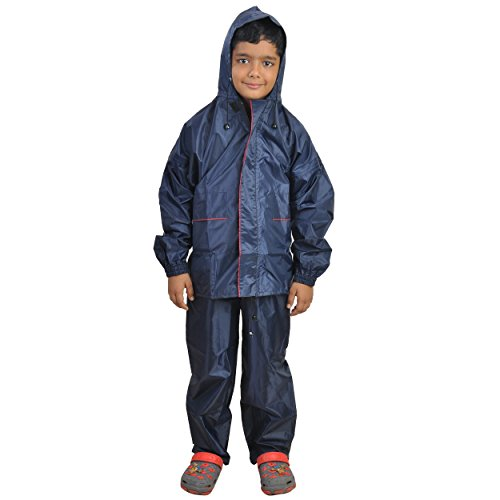 Newera Boys Ibex Taping Raincoat for kids unisex(boys_nb)