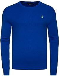 2982f028114c Ralph Lauren - Pull - Manches Longues - Homme Noir Bleu