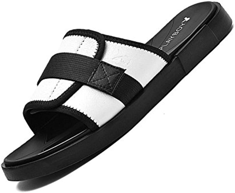 Sandalias Y Zapatillas De Verano para Hombres Elegantes Chanclas Antideslizantes Sandalias De Tendencia Zapatos