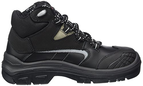 MTS Sicherheitsschuhe Titan S3 Flex Ük 15173, Chaussures de sécurité mixte adulte Noir - Noir