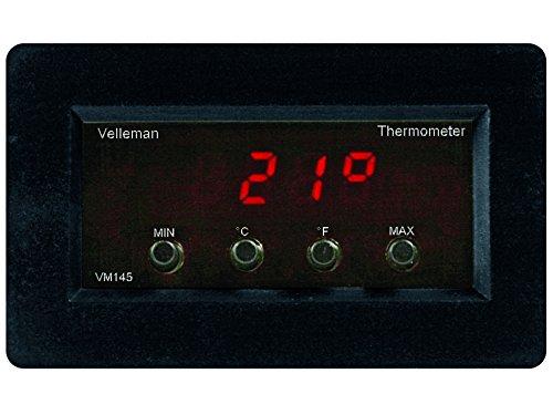 Velleman - VM145 Digital Panel-Thermometer 840466