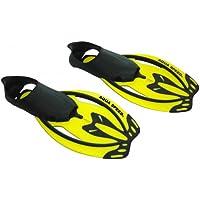 Aqua Speed LYNX - Aletas de buceo, suela semicerrada amarillo Lynx / gelb Talla:XL 44-46