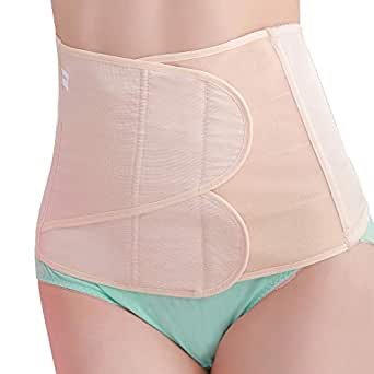 b8cfddced35 SEYO Postpartum Belly Band Wrap Abdomen Binder Recovery Support Girdle Belt  After Pregnancy (Beige
