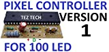 TezTech LED Pixel Controller for 100 2811 and 1903 IC (Brown)
