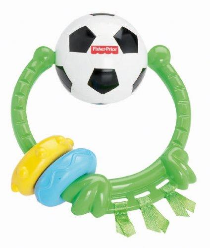 Mattel Y3621 - Fisher-Price Fußball-Spielring, Rassel