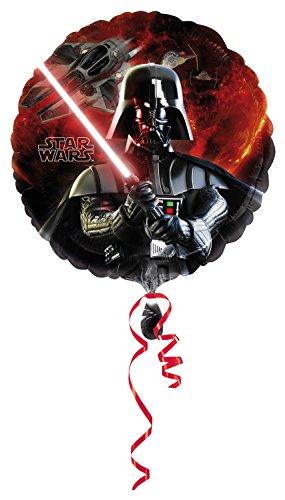 Anagrama 2568501 - globo de la hoja, Disney Star Wars, Darth Vader, 45 x 45 cm