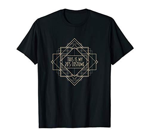 Roaring 1920er Jahre Art-Deco-Shirt This is My 20s Kostüm T-Shirt