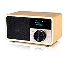 Kathrein DAB+1mini - Radio DAB+/FM con display OLED per uso stazionario e mobile, con Bluetooth