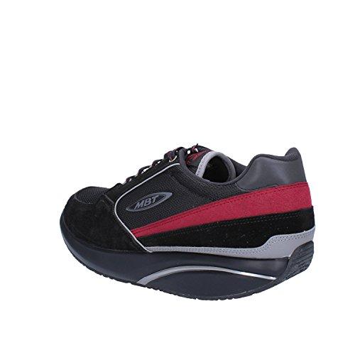 MBT Herren Jelani Chill Ii Niedrige Sneaker, Braun Schwarz