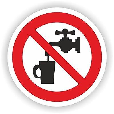 kein Trinkwasser / VER-11 / Sicherheitszeichen / Piktogramme / DIN EN ISO 7010