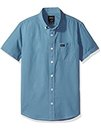 RVCA Big Boys' That'Ll Do Micro Short Sleeve Shirt