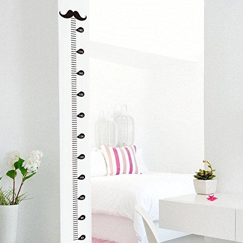 Autocollant compteur Hauteur Moustache pour chambre Babyphone pour enfants salle de jeux de Open Buy