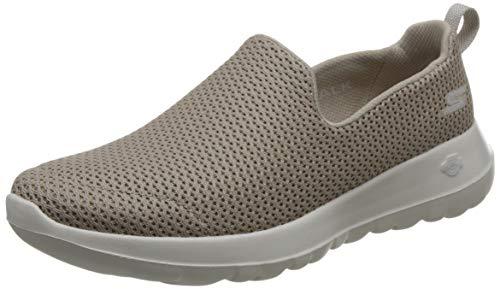 Skechers Damen Go Walk Joy Slip On Sneaker, Beige (Taupe), 39 EU (Skechers Go Walk Schuhe Für Frauen)