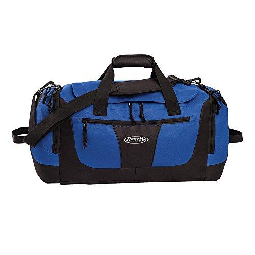 Bestway Sport und Reisetasche, rot, 56 x 23 x 24 cm, 30 liters, 40128-0200 Blau - blau