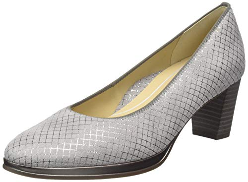 ara ORLY 1213436, Damen Pumps, Grau (Rauch 13), 40 EU (6.5 UK)