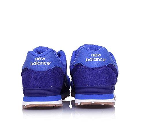 New Balance Kl574esg M, Scarpe da Ginnastica Basse Unisex – Bambini Blu