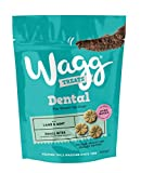 Wagg Lamb and Mint Flavoured Dental Bites, Small Bite, 7 x 100 g