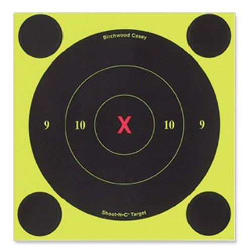 Birchwood Casey B8-60Shoot-n-c 15,2cm rund Target 60Pk