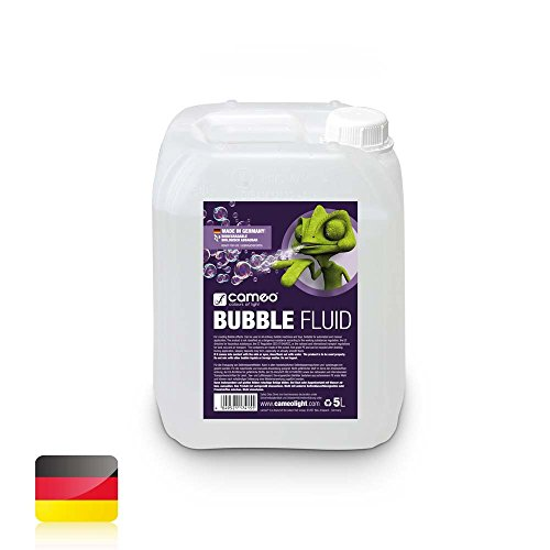 Cameo Light CLFBUBBLE5L BUBBLE Nebelfluid, 5L - Professionelle Mischung