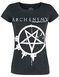 Arch Enemy Pentagram Camiseta Negro 261e63eebe7a8