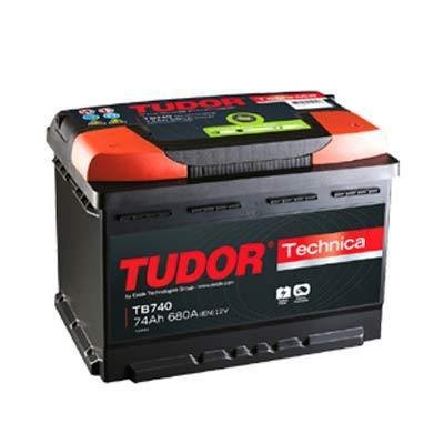 TB740 Exide Tudor Auto Batteria High Tech Carbon Boost 12V 74Ah