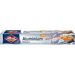 Albal - 4008871200501 - papel de aluminio para cocinar y almacenar los alimentos 10 mx 29 cm - juego de 3