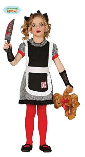 Imagen de disfraz de muñeca diabólica para niñas en varias tallas