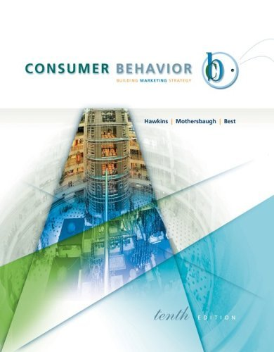 Consumer Behavior with DDB Life Style StudyTM Data Disk by Delbert Hawkins (2006-03-02)