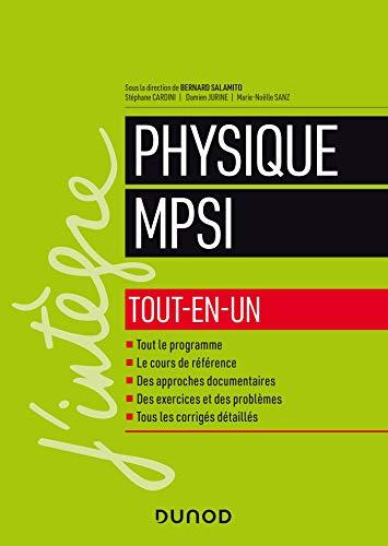 Physique tout-en-un MPSI par  Bernard Salamito, Stéphane Cardini, Damien Jurine, Marie-Noëlle Sanz