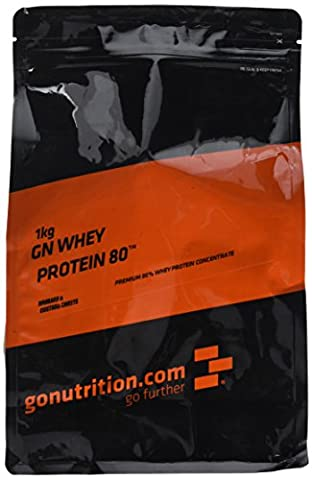 GoNutrition 1 kg Rhubarb and Custard Sweets GN Whey Protein