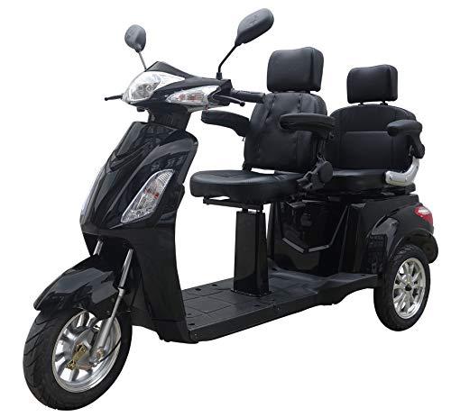 Elektromobil VITA CARE 2000 Seniorenmobil Senioren-Scooter mit Straßenzulassung E-Scooter E-Roller Produktvideo, Schwarz*