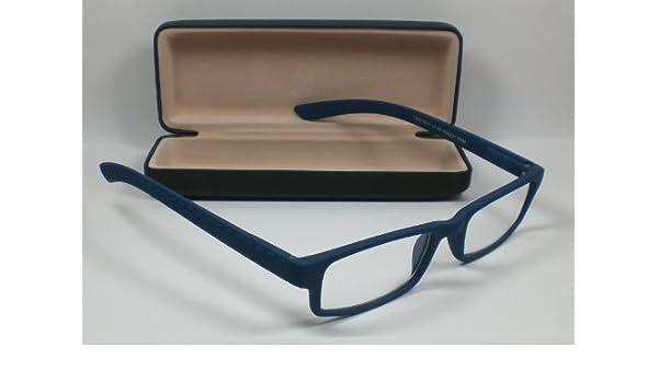 Occhiali da lettura Flex cinghia tracolla da lettura + 3,0diop. Unisex sehhilfe Blu