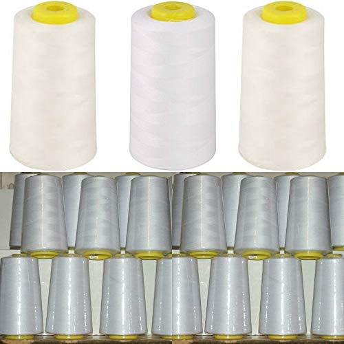 Superstitch/Cometa Garnrolle/Garnspule für Overlock-Nähmaschinen, aus Polyester, 4.572m, 4Stück