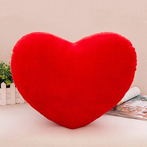 Junlinto - Almohada Decorativa en Forma de Corazón de Algodón PP Suave y Cómoda Muñeca Creativa Regalo