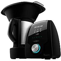 Cecotec Robot de Cocina Multifunción Mambo Black . Con 23 Funciones, Pantalla Digital, Jarra