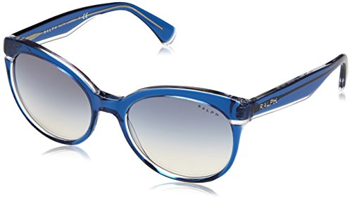 Ralph Lauren Ralph by Damen 0RA5238 16967B 55 Sonnenbrille, Bluette Crystal/Blueegradientmirror,
