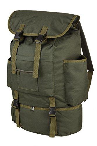 Angler Rucksack mit Kühlfach und 4 aufgesetzten Taschen