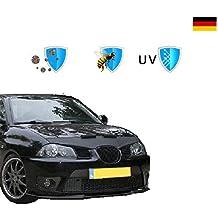 Protector de capò Negro para Seat Ibiza (6L) 2002-2008 | Protector Bonnet