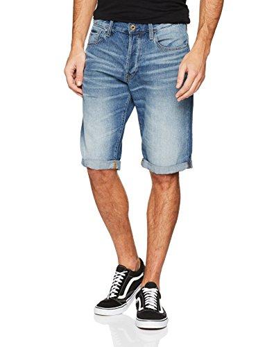 G-STAR RAW Herren 3301 Shorts Blau (Medium Aged 8973-071) W30