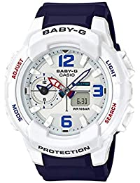 Casio Baby-g Analog-Digital White Dial Women's Watch - BGA-230SC-7BDR (B186)