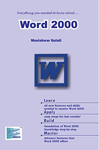 Microsoft Word 2000 (English Edition) eBook: Gulati, Munishwar ...