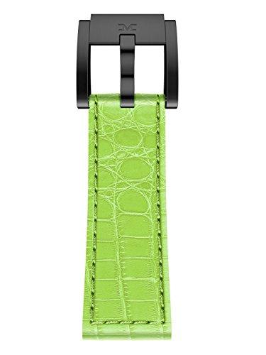 TW Steel Marc Coblen Armband Uhrenband Uhrenarmband Leder 22 MM Kroko Hellgrün LB_HG_K_B