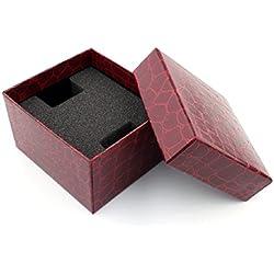 Vovotrade Krokodil Durable-Geschenk-Kasten-Kasten für Armband-Schmuck-Uhr-Kasten_A
