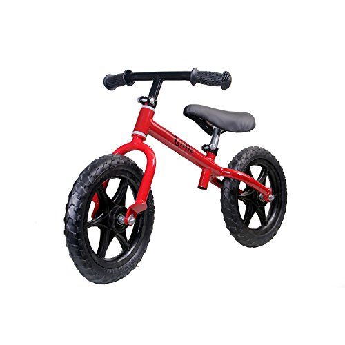 Little Balance Bike Toddler Bicycle for 2-5 years (SQP-O3NF-4J6Z) (Red)
